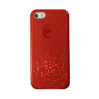 Чехол силиконовый Mask Collection RED для iPhone 5s