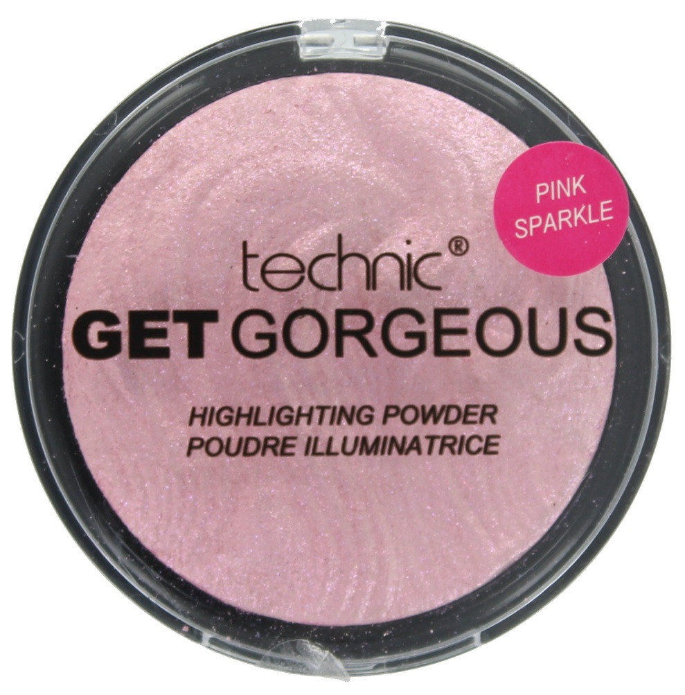 Пудра-хайлайтер Technic Get Gorgeous Highlighting Powder Pink Sparkle12g
