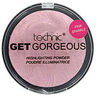 Пудра-хайлайтер Technic Get Gorgeous Highlighting Powder Pink Sparkle12g