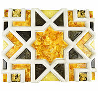 Плитка из янтаря