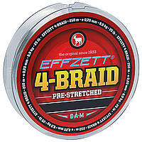Шнур DAM Effzett 4-BRAID 125м 0,18мм 9,1кг/20Lb (moss green)