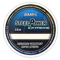Леска DAM DAMYL Steelpower X-Treme 0,60мм 300м 26,3кг (sea-blue)