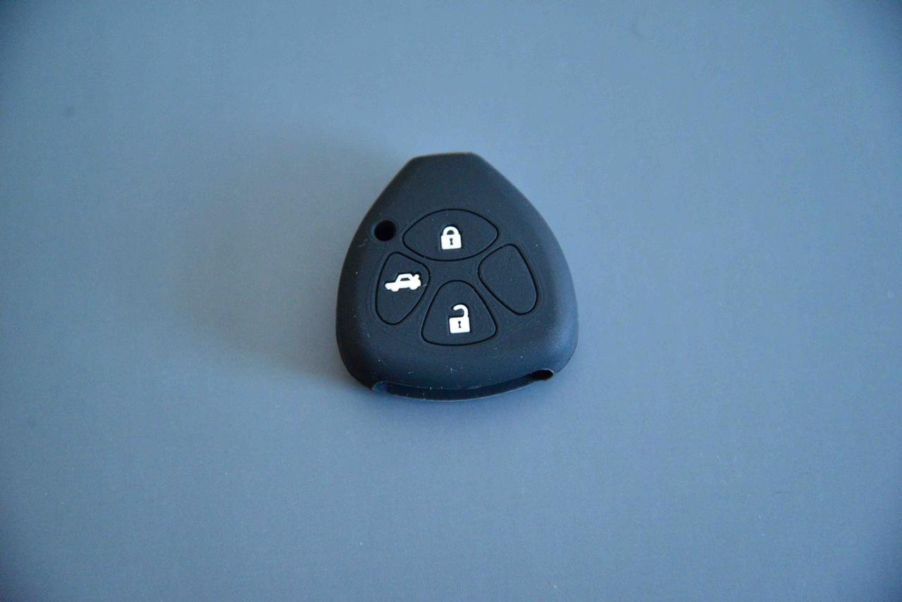 Чехол ключа для Toyota RAV4, Corolla (Тойота РАВ4, Королла ) 3 кнопки