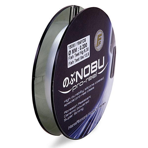 Леска Lineaeffe FF NOBU Pro Reel 0.28мм 150м. FishTest-11,50кг Matt White (прозрач.) Made in Japan