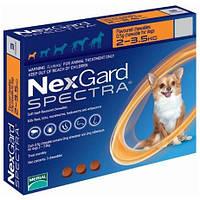Таблетки NexGard Spectra от блох и клещей для собак, 2-3.5 кг