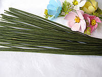 Проволока герберная (флористическая) в обмотке. 2,5 мм 40 см, фото 1