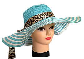 Женская шляпа море
