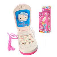 """Детский телефон M 0265 I U/R-1 """"Китти"""", мобильный, в коробке, 4,5-9см"""
