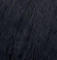 Пряжа Alize KID ROYAL 50черный №60мохероваядля ручного вязания