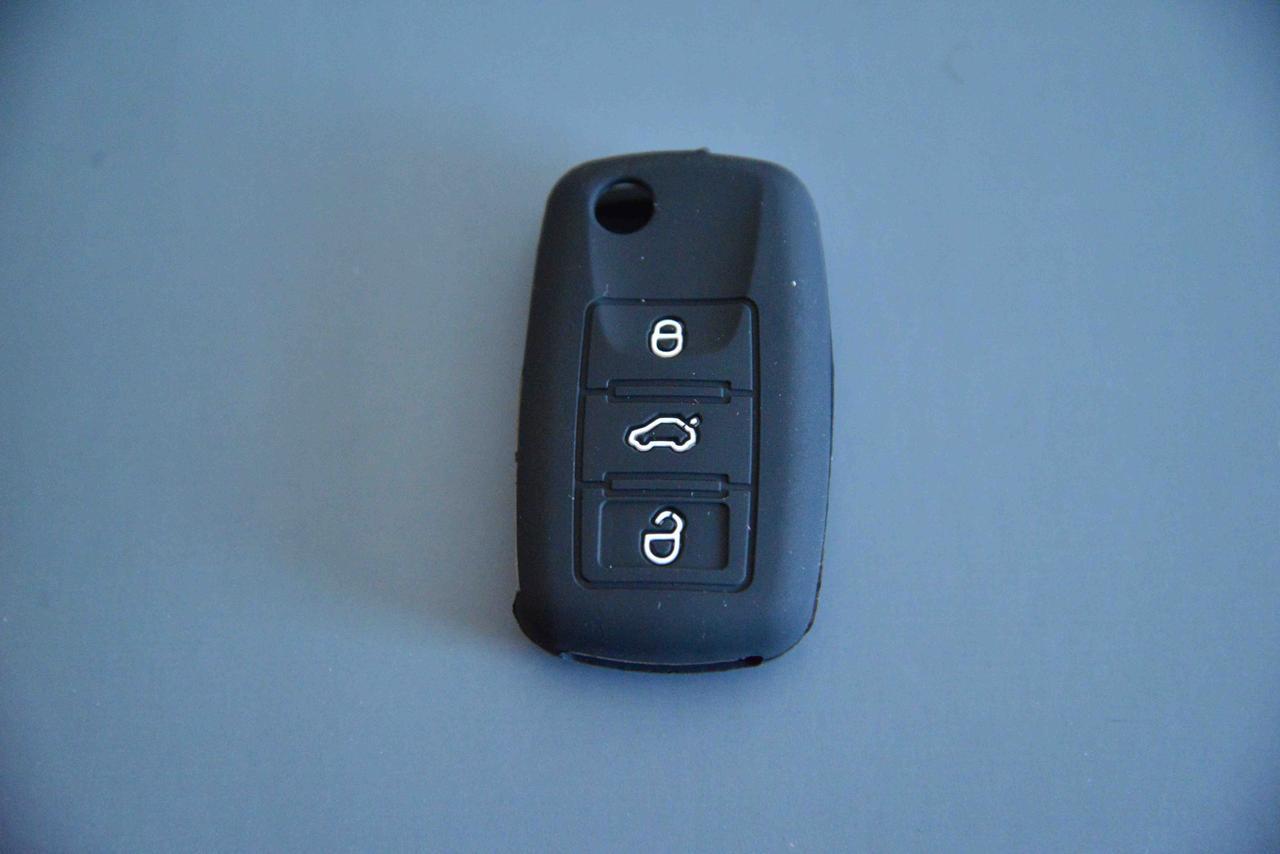 Чехол выкидного авто ключа для VOLKSWAGEN Passat, Caddy, Jetta, Golf (