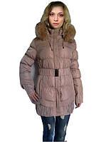 Куртка удлиненная с манжетом