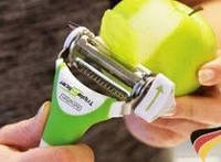 Нож Triple slicer для нарезки овощей и фруктов, 3 в 1