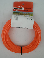 Леска мотокосы 2,0 мм звездочка WINZOR