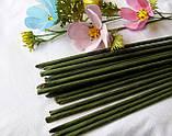 Проволока герберная (флористическая) в обмотке. 5 мм 60 см. 1 шт - 6 грн, фото 2