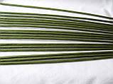 Проволока герберная (флористическая) в обмотке. 5 мм 60 см. 1 шт - 6 грн, фото 3
