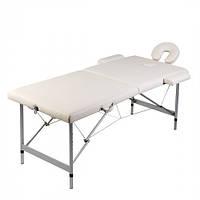 Массажный  Стол с алюминиевой рамой, 2 две зоны