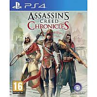 Игра Assassin's Creed Chronicles: Трилогия для Sony PS 4 (русские субтитры)