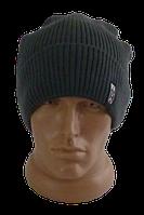 Шапка мужская зимняя, флис м 8238  (В.И.В.)