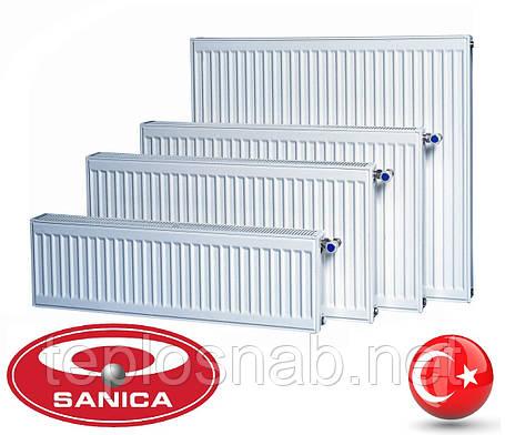 Стальной радиатор Sanica 22 тип (500 х 700 мм) / 1350 Вт, фото 2