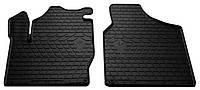 Резиновые передние коврики для Volswagen Sharan I 1995-2010 (STINGRAY)