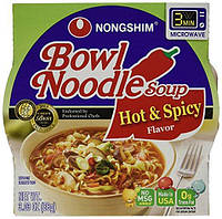 Bowl Noodle Soup, Hot and Spicy 86 г