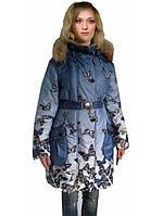 Демисезонное пальто Бабочки