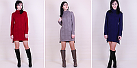 Вязаное платье фото - Кокетка