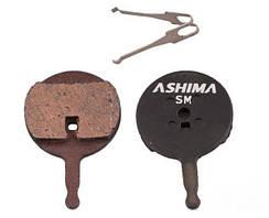 Дисковые тормозные вело колодки ASHIMA для AVID BB5 , Promax DSK-710 полуметаллические