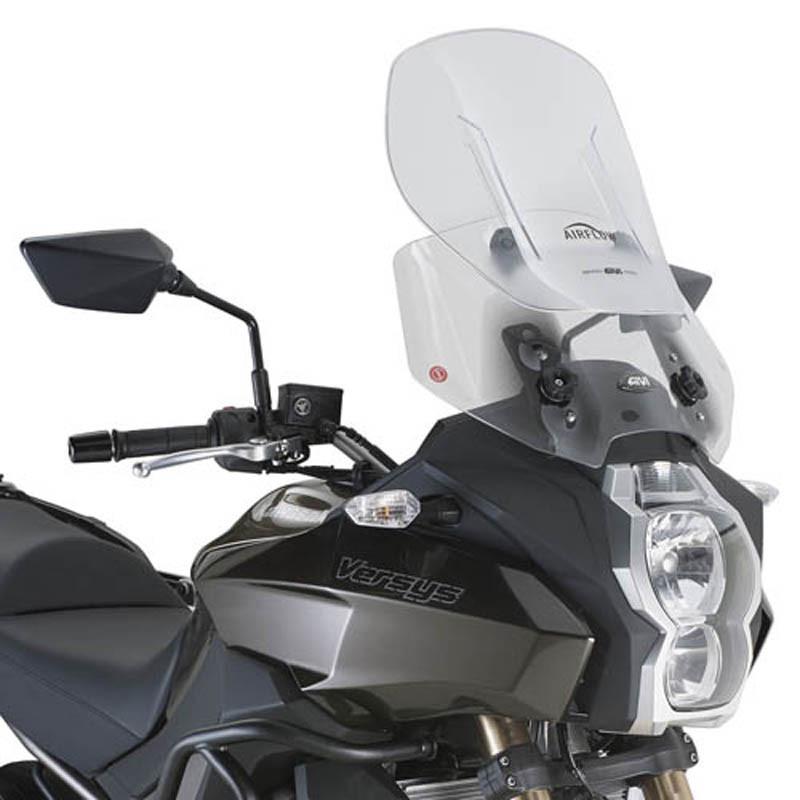 """Ветровое стекло GIVI Airflow KLE650 Versys """"15-16 / KLZ1000 Versys """"12-16"""