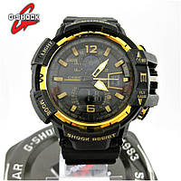 Часы Casio G-Shock GW-A1100 black/Gold. Реплика ТОП качества!
