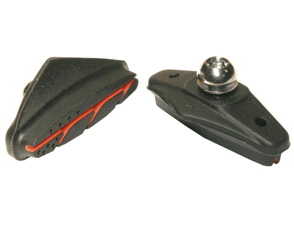 Тормозные колодки Ashima Advanced для V-Brake, шоссейные