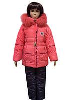 Детский зимний комбинезон с жилеткой
