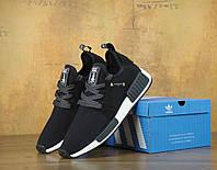 Кроссовки мужские Adidas Mastermind Japan x NMD XR1 Black Реплика