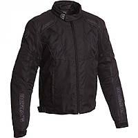 Мотокуртка Bering текстиль Tiago черная, M, фото 1