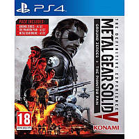 Игра Metal Gear Solid V: The Definitive Experience для Sony PS 4 (русские субтитры)
