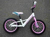 """Беговел Crosser Air 14"""" розовый"""