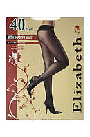 Elizabeth Колготки 40 den WITH HIPSTER WAIST с низкой талией 008EL размер-3