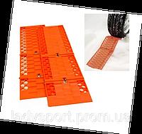 Противобуксовочные пластины под колеса авто Tyre Grip Tracks (устройство Антибукс)