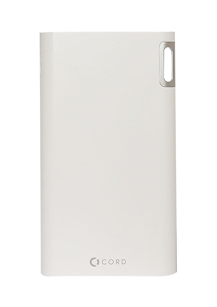 Универсальная мобильная батарея CORD J208 8000mAh (Power bank) белая