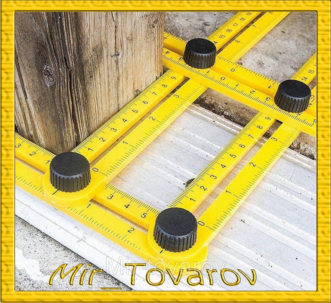 Мультифункциональная линейка Multifunctional folding ruler - Mir-tovarov в Днепре