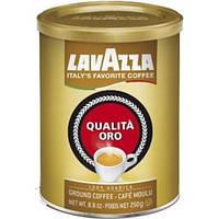 Молотый кофе Lavazza Oro Лавацца Оро жестяная банка 250 гр