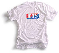 Футболка Ride 100% VINTAGE TEE-SHIRT 100% WHITE, M