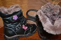 Детская обувь,сапоги,кожа/цигейка.р.33,34.Зима