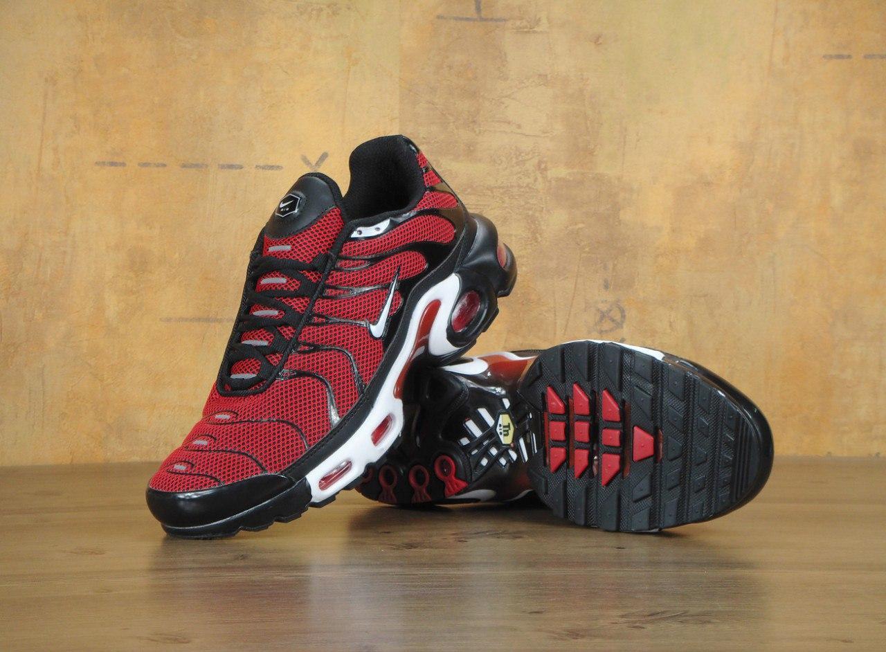cbb2f84a Кроссовки мужские Nike Air Max TN Red Реплика, цена 1 350 грн./пара ...