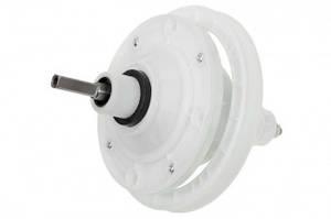 Редуктор для стиральной машины, квадратный вал 35mm, крепление 4 отверстия