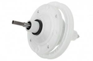Редуктор для стиральной машины, квадратный вал 45mm, крепление 4 отверстия