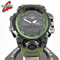 Часы Casio G-Shock GWG-1000 *MILITARY* Black/Green. Реплика ТОП качества!, фото 1