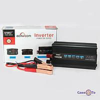 Преобразователь напряжения мощность 1000Вт UKC 12V-220V автомобильный инвертор