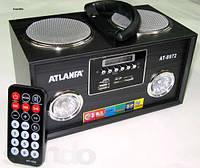 Радиоприемник цифровой Atlanfa AT-8972 (ПДУ, USB, SD, FM стерео)