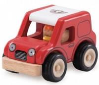 Деревянная машинка wonderworld city Гоночная машина ww-4036